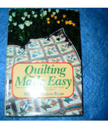 Quilting Made Easy by Mildred Graves Ryan  - $4.00