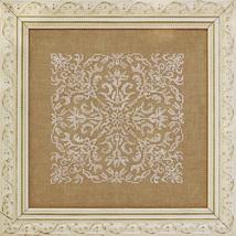 Damask Square cross stitch chart Ink Circles  - $7.20