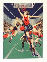 "Boyle ""Basketball Game"" - S/N Serigraph - Retail $225 - COA -See Live At... - $80.00"
