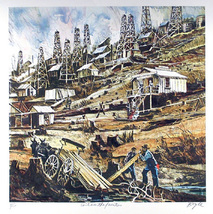 """Boyle """"Can't See The Forest ...."""" - S/N Serigraph - Retail $225 - COA - ... - $80.00"""