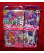 My Little Pony G3 Costco 4 pack Tea Party Fun with Rainbow Dash plus 3 Hasbro  - $35.00