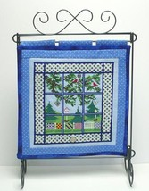 Summer Window Quilt with charms cross stitch chart Handblessings - $13.50