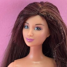 Barbie 2003 REALLY ROSY KAYLA Nude Brunette Lea Face Brown Eyes HTF Doll G2 - $20.00