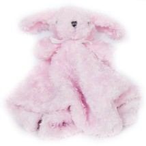 Blankets & Beyond Dog Lovey Swirl Pink Security Blanket Plush Baby - $25.63