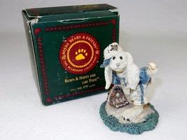 Boyds Bears Figurine ~ Lefty On The Mound, Rabbit Plays Baseball, 1994, ... - $14.65