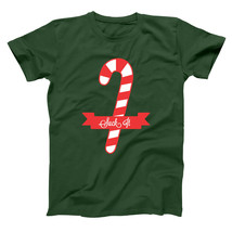 """Suck It Candy Cane Funny Christmas Party Xmas Outfit Forest Green Men""""s ... - $10.99"""