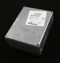 """2.62"""" x 7.44"""" x 4.44"""" ABS Black Plastic Project Box Lot of 10"""