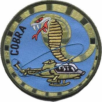 Primary image for USMC AH-1 Cobra Attack Helicopter Patch