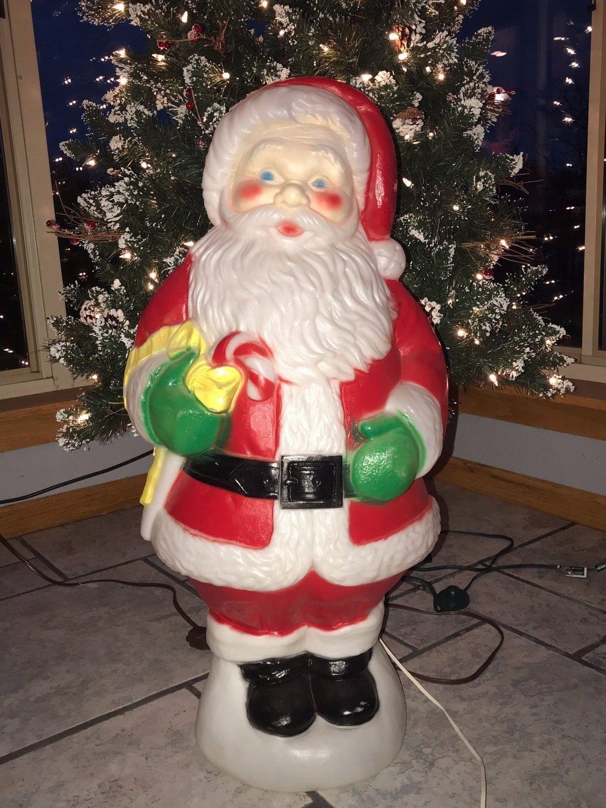 """Vtg Christmas 30"""" Empire Santa Claus Holding and 50 similar"""