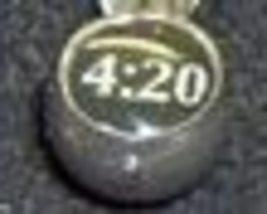 4:20 Logo  Tongue Ring 14 Guage - $10.50