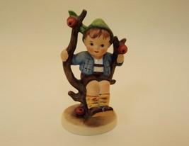 Vintage 1970s Hummel Apple Tree Boy Porcelian Figure 142 3/0 W. Germany - $16.00