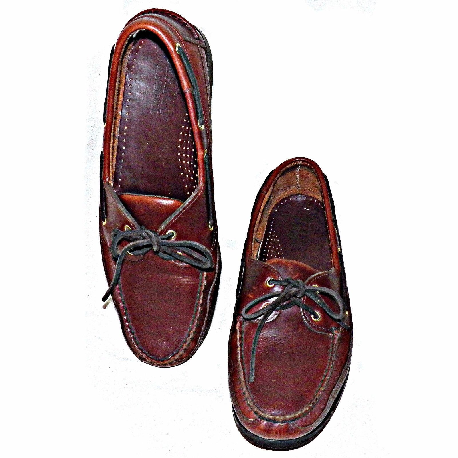 Sebago Docksides Brown Oiled Waxy Leather And 30 Similar Items