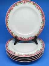 "Pfaltzgraff Atmosphere Grandma's Kitchen 10 5/8"" Dinner Plates Set Of 5 - $47.53"