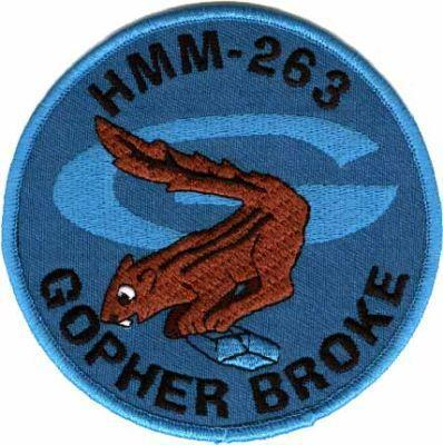 Primary image for USMC HMM-263 Vietnam Helicopter Squadron Patch