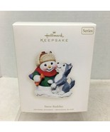 2007 Hallmark Husky Puppy Snow Buddies Christmas Tree Ornament MIB Price... - $18.32