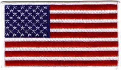 "Primary image for United States of America flag 3"" x 5"" Patch"