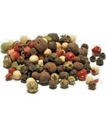 Rainbow 5 Peppercorns Whole Pepper Spicy Red Green White Pink Allspice - $14.99