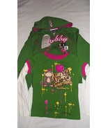 Bobby Jack girls small 7/8 Hooded sweatshirt and long sleeve t-shirt - $12.00