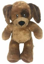 """Build A Bear Brown & Tan Puppy Dog Brown Spot Eye 16"""" Plush Sewn Eyes Lovey - $9.90"""