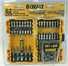 DeWalt - DWA2SD62 - 62-Piece Titanium Screwdriver Bit Set - $29.65