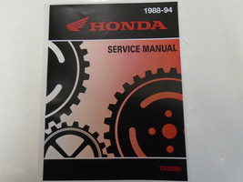 1992 1993 1994 HONDA TRX300FW TRX300 FOURTRAX 4X4 Service Shop Manual NEW - $102.97