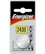 CR2430, Coin Battery, Button Cell, 3 Volt, Energizer - $0.99