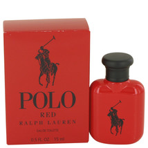 Polo Red by Ralph Lauren Eau De Toilette .5 oz for Men #536066 - $20.77