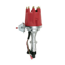 Pro Series R2R Distributor for Pontiac SB BB, V8 Engine Red Cap