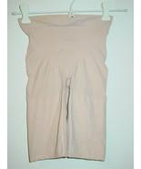 Spanx Beige High Waist Shaper Bottom Mid Thigh-M - $19.75