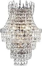 Wall Sconce DALE TIFFANY CONCHITA 3-Light Polished Chrome - $249.99