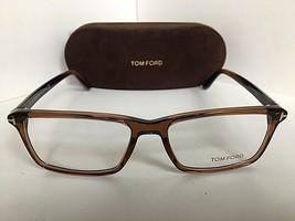 New Tom Ford TF 5408  960 56mm Brown Rectangular Men's Eyeglasses Frame - $189.99