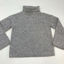 NWT A New Day Soft Fleece Sweater Women's Size XS Long Sleeve Gray Turtl... - $18.95