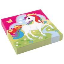 Rainbow Unicorn Napkins Tableware Decorations and Accessories - £2.90 GBP