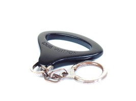 Auth LOUIS VUITTON Epi Z Black Key Ring LK16410L - $89.00