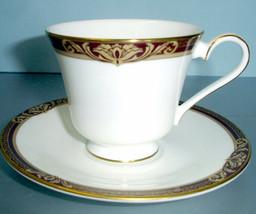 Royal Doulton Tennyson Footed Tea Cup & Saucer Set NEW - $34.90