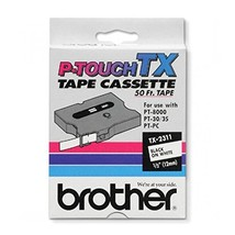 Brother International TX2311 Tape for P-Touch, 12mm x 50 feet Length Dim... - $19.79