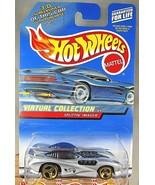 2000 Hot Wheels #155 Virtual Collection Cars SPLITTIN' IMAGE Gray w/Gold... - $7.00