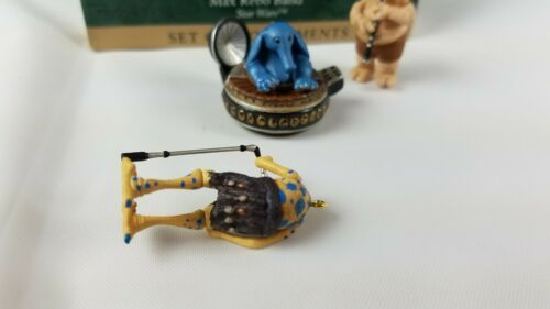 Hallmark Keepsake Ornament Set of 3 Star Wars Max Rebo Band 1999 image 3