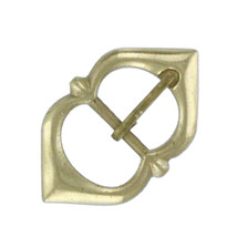 Renaissance Medieval Solid Brass Strap Buckle 10 pic - $14.85