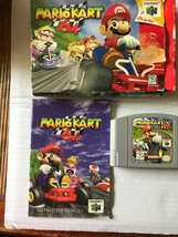 Mario Kart 64 (Nintendo 64, 1997) complete in box - $68.99