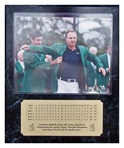 Jordan Spieth 2015 Masters Champion Receiving Green Jacket 8x10 Photo with engra - $29.39