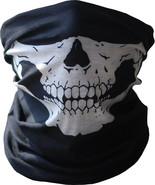 Skull Microfiber Fishing Tube Mask Neck Gaiter Sun Face Shield  -  6 in ... - $12.95