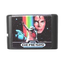 Micheal Jackson's Moonwalker EU/US Shell 16 bit MD Game Card For Sega Me... - $11.00
