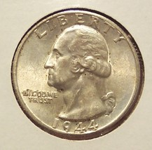 1944-D Silver Washington Quarter BU #012 - $13.99