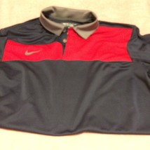 """NIKE GOLF MENS POLO  SIZE S  DRI FIT--""""COUGARS"""" ON BACK----FREE SHIP--VGC - $17.83"""