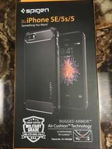 Spigen Rugged Armor iPhone SE Case - $9.99