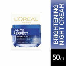 L'Oreal Paris White Perfect Night Cream, 50ml  - Protects and repairs skin  - $17.73