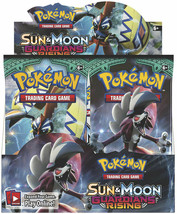 Guardians Rising 12 Booster Pack Lot 1/3 Booster Box POKEMON TCG Sun & Moon - $41.99