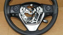 14-16 Toyota Corolla SRS Steering Wheel W/ BT Tel Radio Cruise Controls image 4