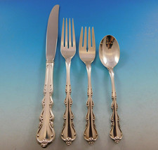 Angelique by International Sterling Silver Flatware Set for 8 Service 32... - $1,732.50